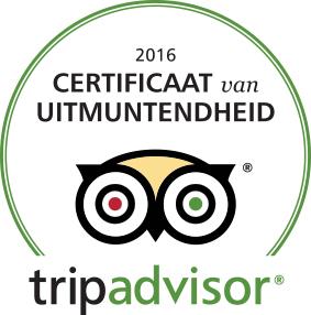 Certificaat van uitmuntendheid 2016