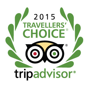 TripAdvisors Travellers´Choice Award 2015