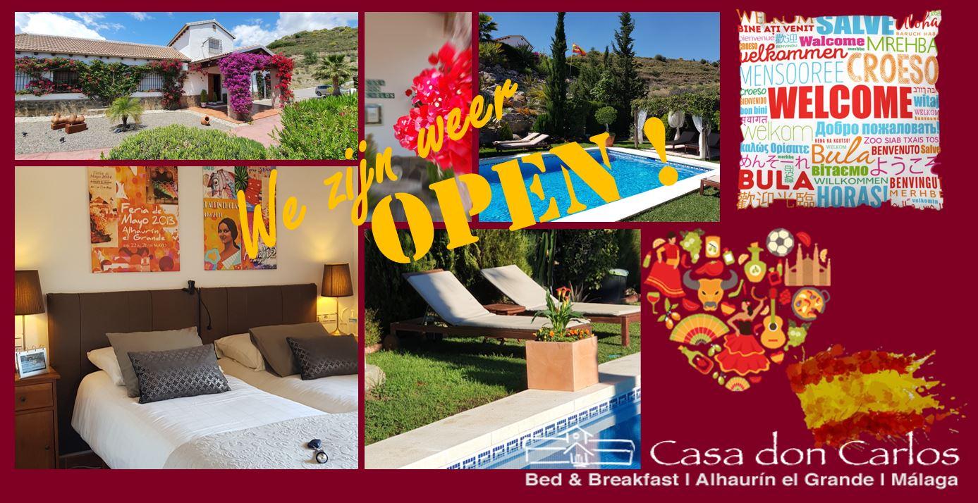 Casa don Carlos weer open